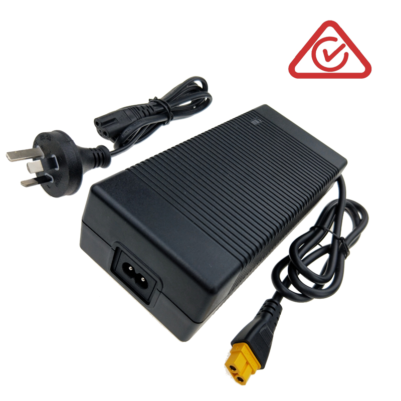 10S lithium battery charger 42V 5A for scooter