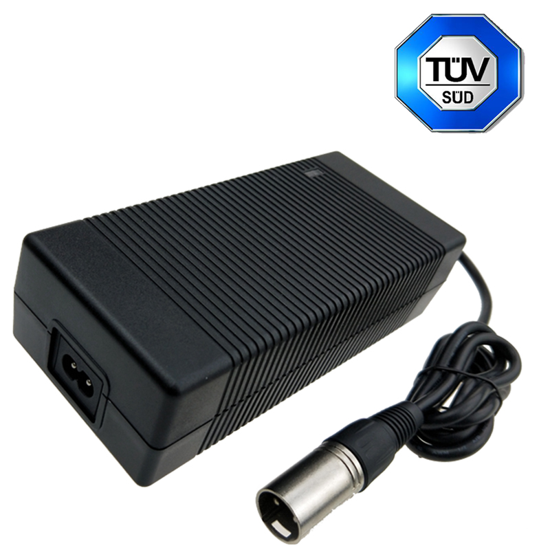Lithium battery charger adapter 58.8V 3A with UL FCC PSE CE GS SAA KC