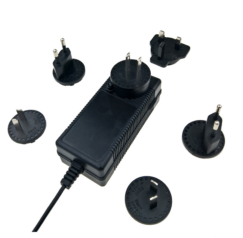 12V 6A Interchangeable Plug Power Adapter