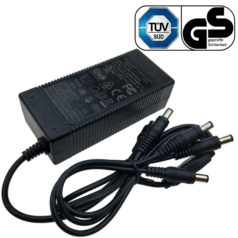 GS Certified 42.5V 1.5A Power Adapter Charger
